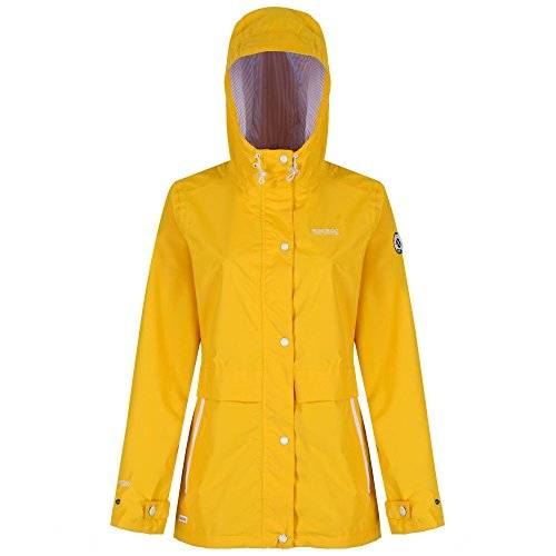Regatta - Great outdoors - chaqueta impermeable modelo bayleigh para mujer (44/amarillo)