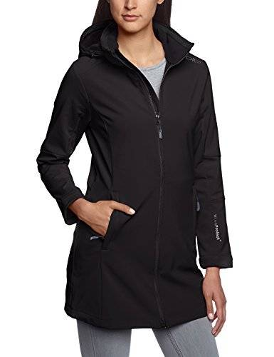CMP Softshell - Soft shell para mujer, tamao D40, color negro