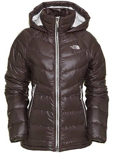 The North Face Plumfero The North Face Polar Down, Parka marrn para mujer (Tamao: L)