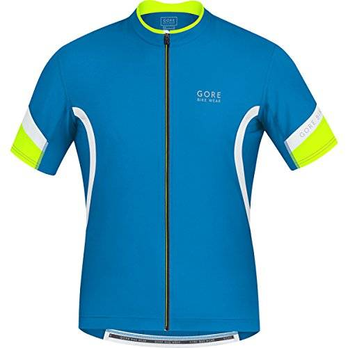 Gore Bike Wear Power 2.0 - Maillot de ciclismo para hombre, multicolor, talla S