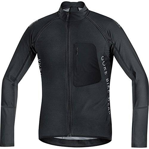 Gore BIKE WEAR Maillot para Hombre, Trmico, 2 en 1, Verstil, WINDSTOPPER Soft Shell, Alp-X PRO WS SO Zip-OFF, Talla M, Negro, SWPALP990004