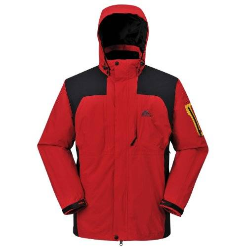Cox Swain functional jacket Colorado Titanium Modell 15.000mm waterproof, Colour: Red, Size: M