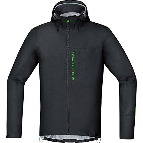 Gore BIKE WEAR Chaqueta MTB para Hombre, TEX Active, POWER TRAIL GT AS Jacket, Talla S, Negro, JGPOWM990003