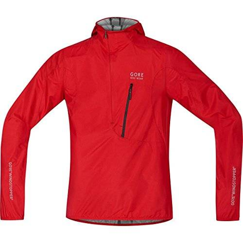 Gore BIKE WEAR, Hombre, Chaqueta rescue, WINDSTOPPER Active Shell, RESCUE WS AS, Talla M, Rojo, JGRESC350004