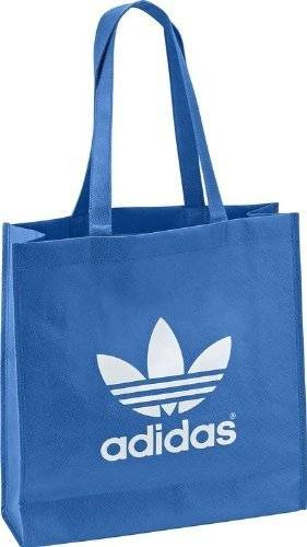 Adidas AC Trefoil Shopper bluebird-running white - NS