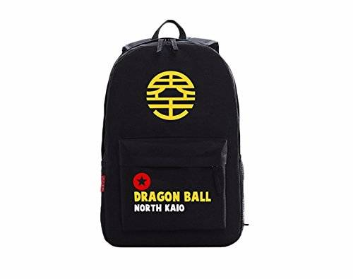 animanga new Escuela Mochila Cartoon Casual Cartera de libros Backpack Amarillo Negro Dragon Ball rare