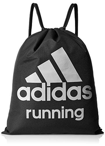 Adidas Run Gym Bag - Bolsa, color negro / gris