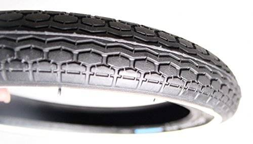 Schwalbe HS140 WHITE-LINE SIDE WALL Black - 12 1/2x1.75