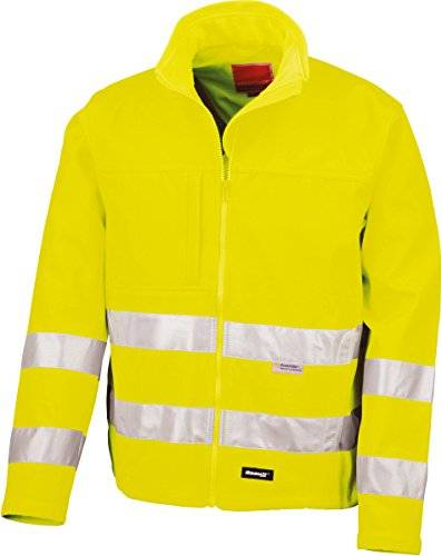 Reflexionsjacke Soft Shell, orange, S