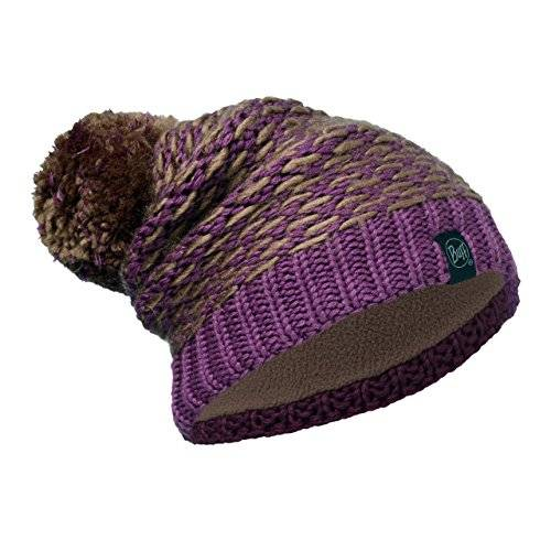 Buff® Original Buff Knitted & Polar Hat Solid Unisex Adulto, talla unica, color Kirvy Fossil/Brown