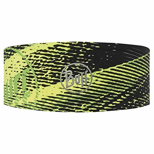 Buff® Original Buff Flash Logo Yellow Fluor - Headband Tech unisex, diseo estampado