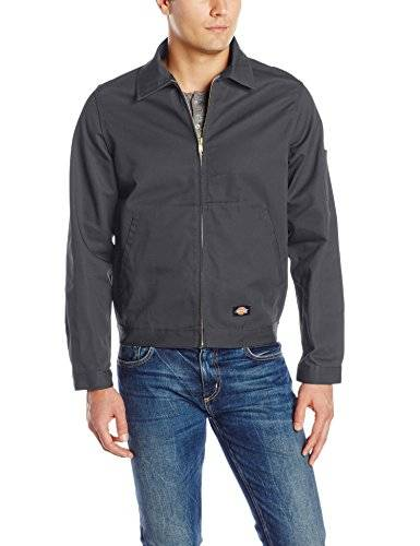 Dickies Unlined Eisenhower Jacket - Chaqueta de manga larga para hombre, Carbón (Charcoal) (Grey), X-Large (Talla del fabricante: X-Large)