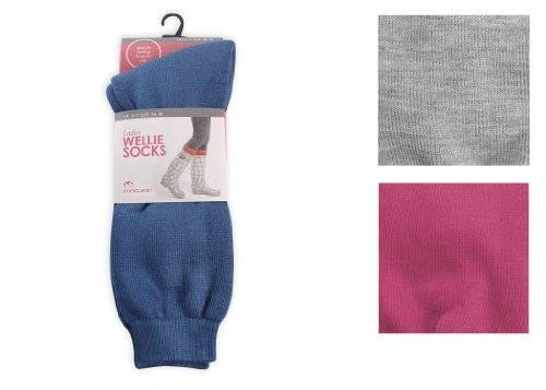 Anucci 3 Pairs Ladies Wellington Boots Socks by Anucci