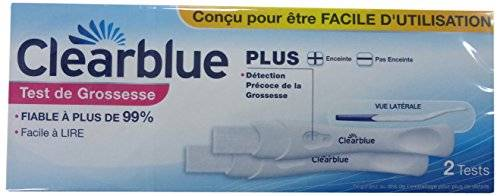 Clearblue Plus - 2 tests de grossesse