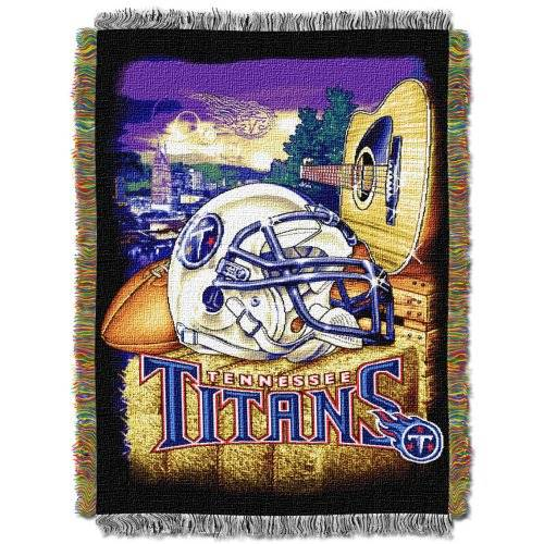 Northwest NFL Tennessee Titans Acrylic Tapestry Throw Blanket