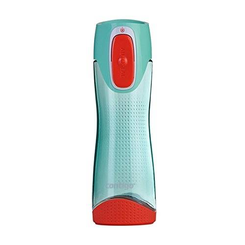 Contigo Swish - Botella de agua, color verde mar, 500 ml