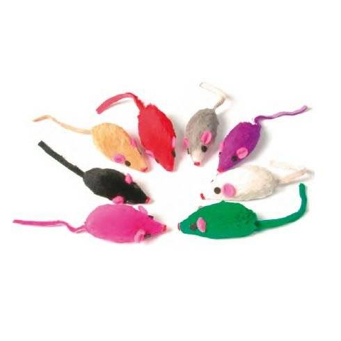 ZOLUX Fur Mouse Cat Toy by Zolux