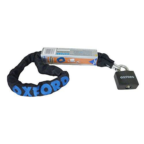 Oxford Bike Padlock and Chain 900mm x 6mm OF200 by Oxford