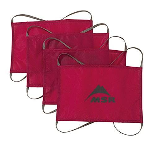 MSR Sand/Snow Tent Anchors 4 Units, color red