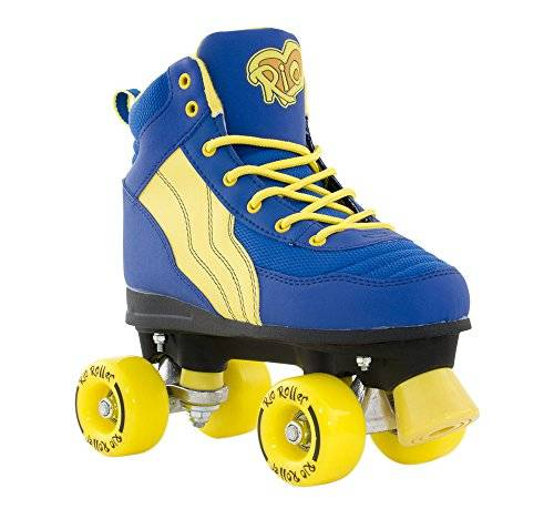 Rio Roller Pure Childrens Patines, Unisex Adulto, Azul / (Blue / Yellow), L 58-59cm