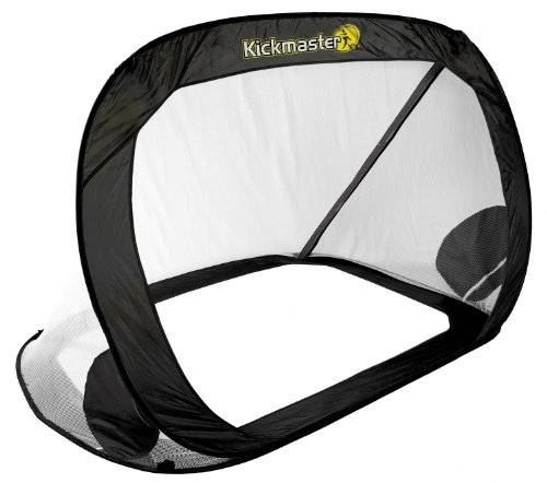 Kickmaster Large Quick Up - Portera de ftbol ( jardn, porttil ), color amarillo