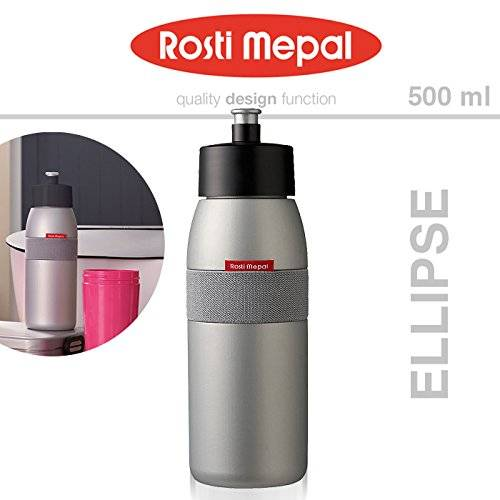 Rosti-Mepal Rosti mepal M293712 - Botella sports ellipse rosti 500ml silver