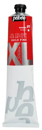 Pébéo Pebeo XL - Pintura al óleo (200 ml), color rojo