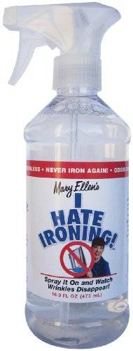 Mary Ellen Products I Hate Ironing Spray antiarrugas, 454 ml, multicolor
