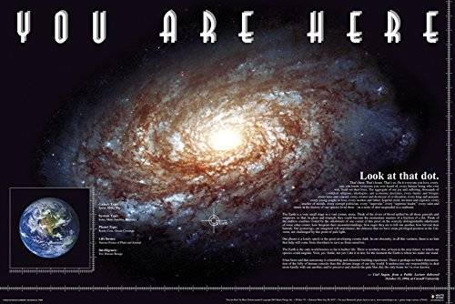 Grindstore GB Eye, You Are Here, Space, Maxi Poster, 61 x 91,5 cm
