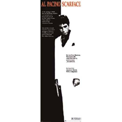 Pyramid Scarface – One Sheet Póster para puerta – 53 cm x 158 cm – Producto nuevo