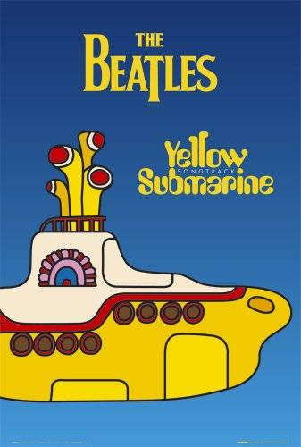 Gb Posters GB eye LTD, The Beatles, Yellow Submarine Cover, Maxi Poster, 61 x 91,5 cm