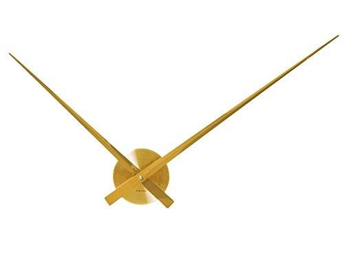 Karlsson Little Big Time - Reloj de pared, color dorado