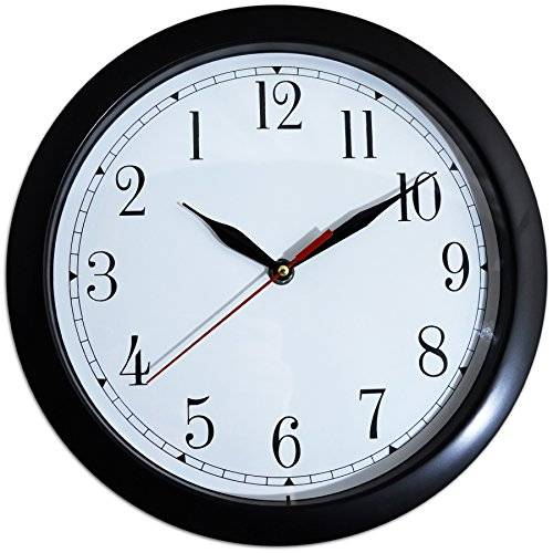 OBE Backwards / Reverse Wall Clock - with the correct time. by oob
