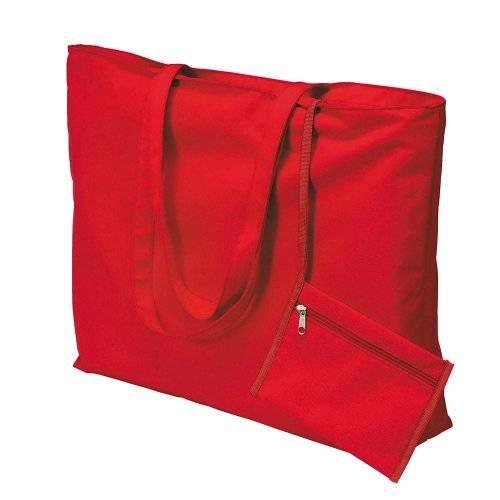 eBuyGB Unknown - Bolso de tela para mujer rosso