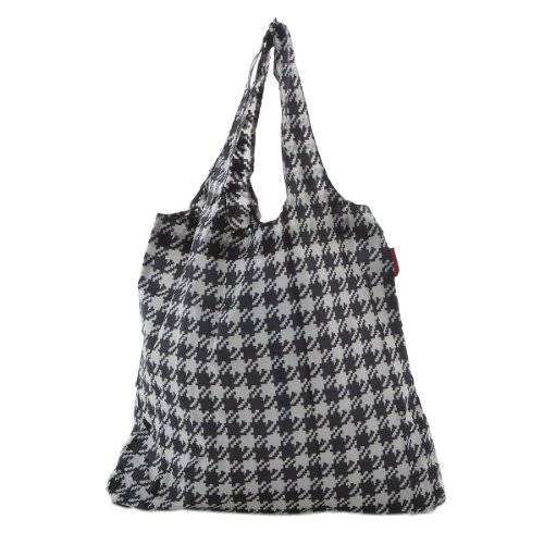 Reisenthel - Mini maxi shopper, bolsa de la compra, fifties black / negro y blanco estampado, at7028