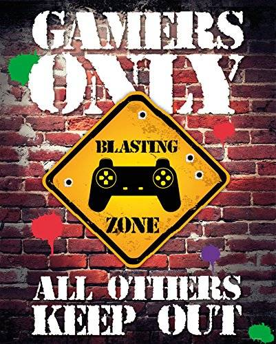 Gb eye Mini Poster Gamers only