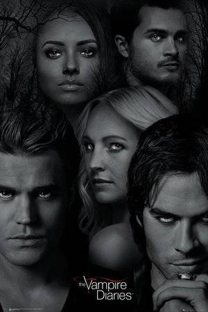 GB Eye Limited GB Eye Ltd, The Vampire Diaries, Faces, Maxi Poster