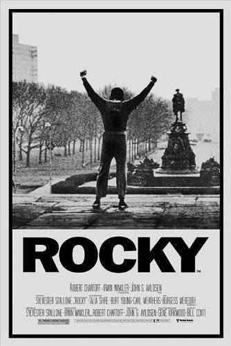 Pyramid Rocky One Sheet Maxi póster, multicolor
