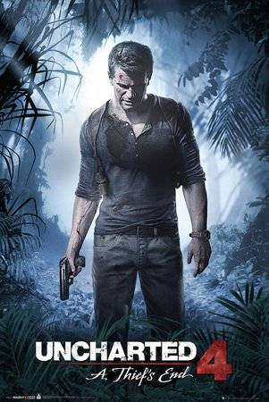 GB Poster Uncharted 4 a thief's end (61 x 91.5cm)