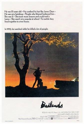 Decorative Wall Poster Badlands Poster (27 x 40 Inches - 69cm x 102cm) (1974)