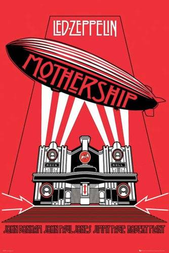 Empire Póster 'Led Zeppelin -Mothership', Tamaño: 91 x 61 cm