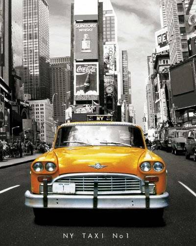 Empire Merchandising 522092 New York - Póster de taxi en Nueva York (40 x 50 cm)