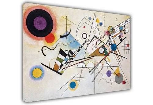 CANVAS IT UP WASSILY KANDINSKY CANVAS PINTURA ART PICTURES COMPOSICION VIII PHOTO PRINTS ROOM DECORATION CLASSIC PHOTOS OEL PINTING REPRINTING