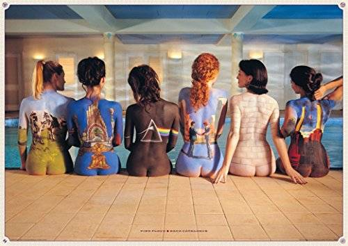 EuroPosters Poster Gigante Pink Floyd Back Catalogue