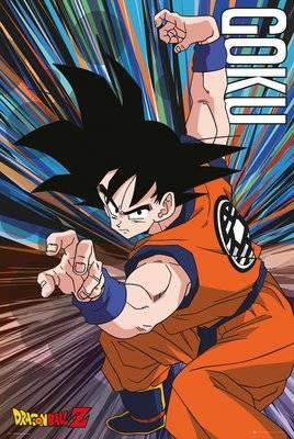 Gb Posters GB Eye Ltd, Dragon Ball Z, Goku Jump, Maxi Poster