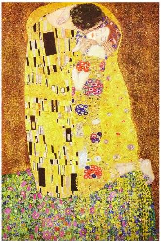 The Poster Corp Gustav Klimt - El Beso, 1908 Póster (91 x 61cm)