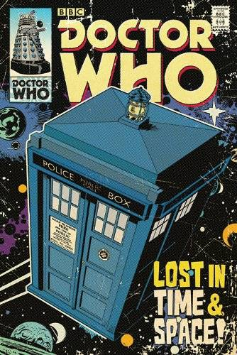 Doctor Who Dr Who - Póster
