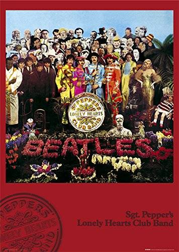 Nosoloposters GB eye LTD, The Beatles, Sgt Pepper, Maxi Poster, 61 x 91,5 cm