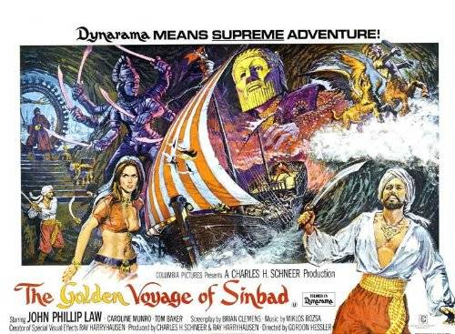 Decorative Wall Poster The Golden Voyage Of Sinbad Poster (30 x 40 Inches - 77cm x 102cm) (1973) UK