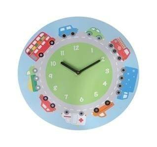 Sass & Belle Childrens Camiones, autobuses y Auto Reloj